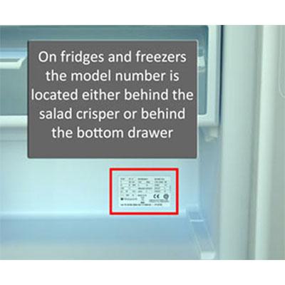 hotpoint fridge serial number