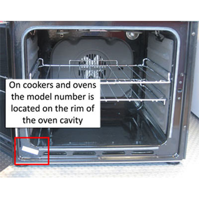 hotpoint ovens serial numbers
