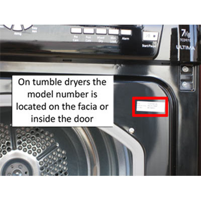 hotpoint tumble dryer serial numbers